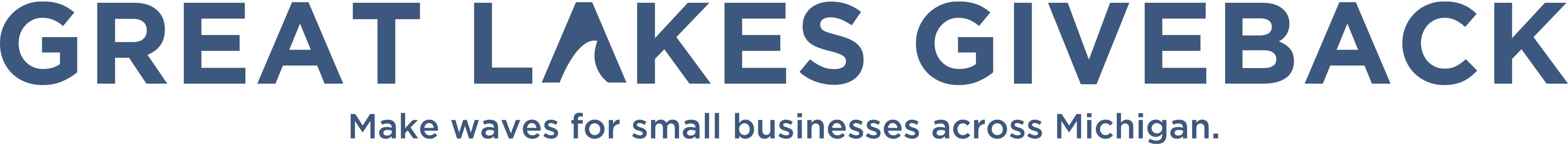 Lake Trust Great Lakes Give back logo