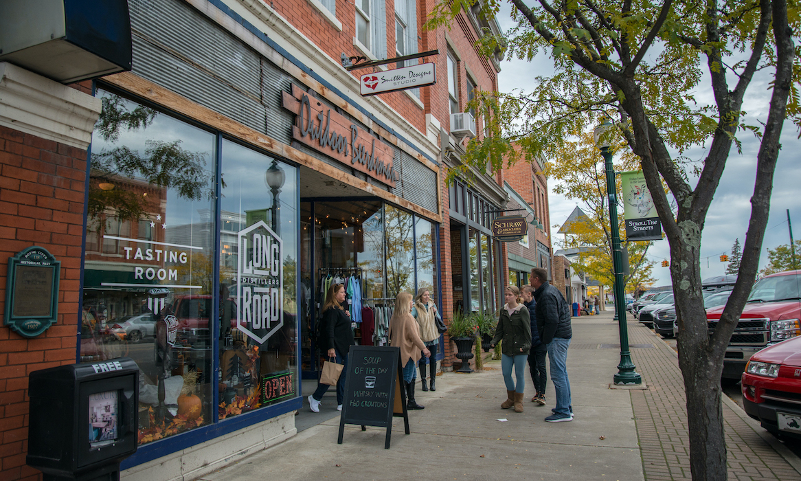 Downtown Boyne Michigan